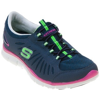 This slip on sneaker from Sketchers is a fab walking shoe.