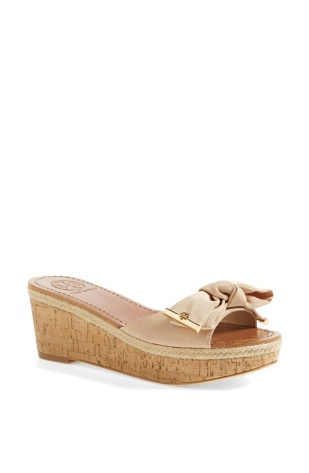 """The """"Penny"""" sandal by Tory Burch will make you feel so fabulous that you'll forget about your cast."""